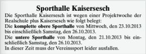 Quelle: Region im Blick Ausgabe KW 41/13 | Donnerstag, 10. Oktober 2013, WITTICH VERLAGE KG, Höhr-Grenzhausen